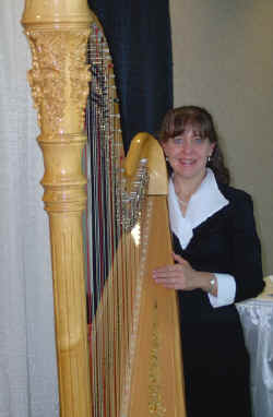 The ultimate Wedding Harpist can be yours for nearly any special engagment..Contact Genie Thiergartner Today To Schedule your engagement